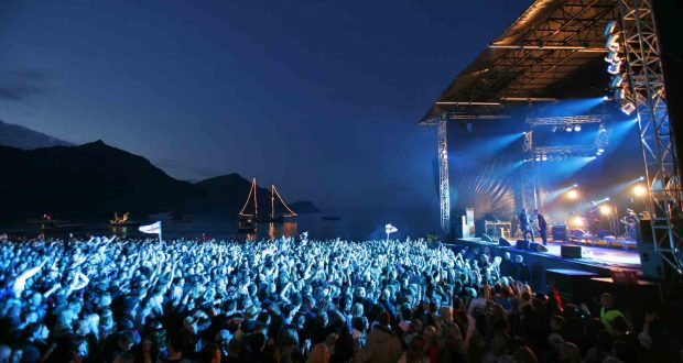 The G! music festival at the village of G¯ta